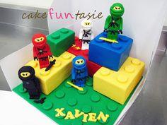 Cake Funtasie: 3D Lego Ninjago Cake