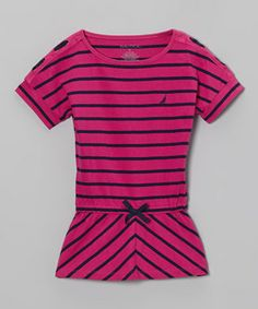 Little angels will love this all-cotton tee that features an easy-fitting and dressy design that is sure to impress at most any occasion.