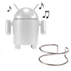Le gadget fun et utile du moment : Le mini haut parleur robot radio/usb/sd va vous permettre de dynamiser le son de votre portable, mp3, ordinateur ou toute autre source ! Ressemblant comme deux gouttes d'eau au célèbre Android, vous allez tout simplement l'adorer ! Il est tout à fait indispensable ! Ce gadget fun est à retrouver sur www.pinklemon.fr ! Pinklemon, le zeste de gadget fun.