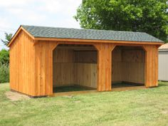Classic Run-In  http://www.woodtex.com/barns-and-run-in-sheds.asp