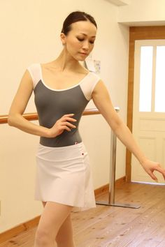Yumiko leotard in the Wendy style.