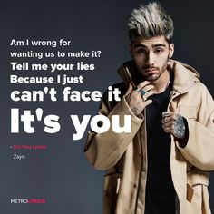 Zayn Malik - It's You Lyrics  #Zayn #ZaynMalik #ItsYou #Lyrics