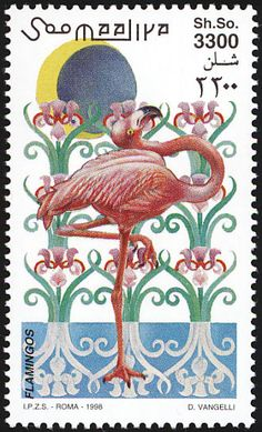 American Flamingo stamps - mainly images - gallery format