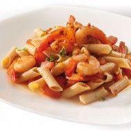Scampi's met pasta & tomaat #Powerslim #Diner #Healthyfood