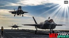 F-35B Pilots Will Make Rolling Landings Like This To Board Royal Navy Ca...