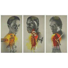 #StarWars #TheForceAwakens by #LauraRacero (@lauraracero) New prints available through her website #CoolArt #Art #Print #Rey #DaisyRidley @daisyridley #Finn #FN2187 #JohnBoyega @john_boyega #KyloRen #AdamDriver #SWTFA #KnightsOfRen by geekynerfherder