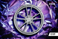 Advanced applied technology creating world-class resistance, strength and performance. Discover Zeus, the wheel forged by the gods.