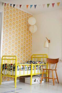 Inspiration yellow. #estella #kids #decor