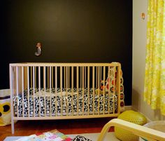 If I can't get my super spendy Stokke crib, this Ikea one will be just fine!