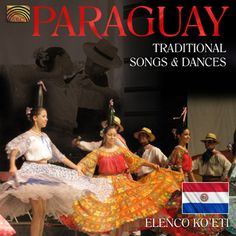 Traditional music from Paraguay, sung as well as instrumental, played on harp, guitars, drums and percussion. Richly illustrated 24-page coulour booklet with extensive information about the group and each of the pieces in English, German, French and Spanish. Total playing time: 58:06 min.