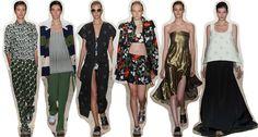 PETER SOM Color Frambuesa: New York Fashion Week: day 2
