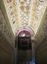 ceiling in ancient Italian building. 1500's