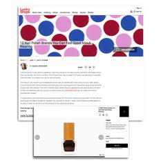 Habit Cosmetics Nail Polish in Lucky Shops Slideshow August 11, 2015