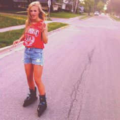 Maybe I'll just rollerblade everywhere instead of drive. Save the earth a little.