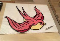 Bird perler beads by Szilvi