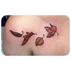 Perfect fall tattoo!