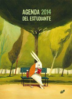 "Cover for ""Agenda 2014 del estudiante"" Publishing house THULE"