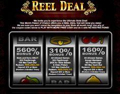 July Promo Bonus Coupon Codes   Palace of Chance Casino