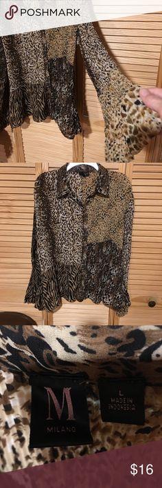 Beautiful ladies long sleeve blouse Beautiful ladies long sleeve blouse. Milano Tops Blouses