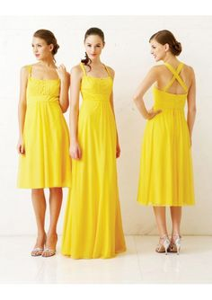 Bridesmaid dress comes in many colors and designs. Yellow bridesmaid dresses are mostly favorite. They come in some fabrics and styles. Strapless yellow bridesmaid dress is one favorite. Summer Bridesmaid Dresses, Yellow Bridesmaid Dresses, Wedding Bridesmaids, Bridal Dresses, Wedding Attire, Summer Dresses, Maid Of Honour Dresses, Estilo Fashion, Dresses Uk