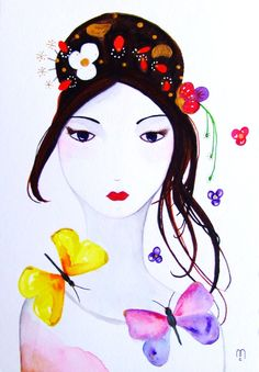 Hey, I found this really awesome Etsy listing at http://www.etsy.com/listing/105074024/portrait-woman-original-painting