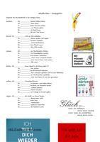 Arbeitsblätter mit einfachen Sprech- und SchreibübungenWortschatzerweiterung:Tiere, Verben für Bewegungen & AktivitätenUmfang 4 SeitenIch hoffe, es gefällt euch ; ) - DaF Arbeitsblätter