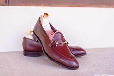 Carmina shoemaker — UNLINED HORSEBIT LOAFERS 80643 UETAM IN BURGUNDY...