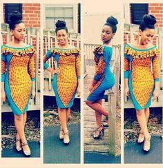 Ankaraspiration: Stunning & Unique Ankara Styles By Bernandoll - Wedding Digest NaijaWedding Digest Naija African Inspired Clothing, African Print Fashion, Africa Fashion, African Fashion Dresses, African Prints, African Attire, African Wear, African Women, African Dress