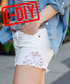 How To DIY 3 Extra-Cute Pairs Of Cut-Off Shorts