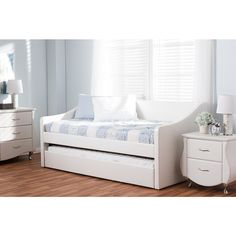 Barnstorm Beige Daybed with Trundle Bed