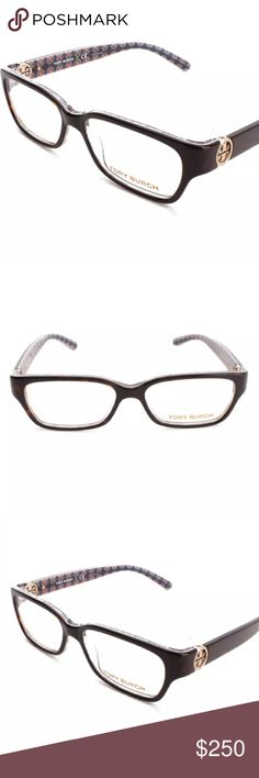 a58d10a3c27 Tory Burch Rectangle Eye Glasses - Authentic Classic fresh frames with a  rectangle silhouette that gives