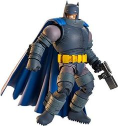"DC Comics Multiverse The Dark Knight Returns Armored Batman Figure 1) I am very happy with this! After 25 years of ""the Dark Knight Returns"" release, we finally got some sort of official armored Batman figure based on the graphic novel. Correct me if I'm wrong, but I believe this is the very first ""Dark Knight Returns"" armored Batman figure ever! If that's the case, this should've come out a LONG time ago! Why did it take them so long to make one of these? Either way, I'm happy we finally…"