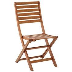 Buy John Lewis Naples Folding Dining Chairs, Set of 2 Online at johnlewis.com