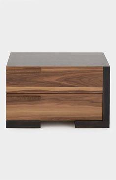 Bedside Table Design, Modern Bedside Table, Bedroom Furniture Design, Bed Furniture, Space Saver Dining Table, Japanese Furniture, Bedroom Setup, Drawer Design, Wooden Drawers