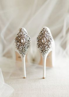 Featured Photographer: Rachel May Photography; wedding shoes idea