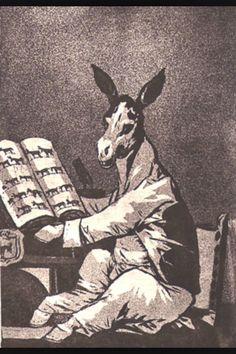 dibujo creado por nuestro Goya ... a mi me  transporta a la cotidianidad del noticiario ...