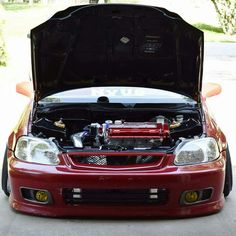 1999 Honda Civic, Honda Civic Vtec, Civic Jdm, Honda Civic Coupe, Honda Truck, Honda Cars, Stance Nation, Nissan, Volkswagen