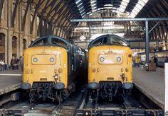 55017-Y-KingsCross-220979-PB816 Electric Locomotive, Diesel Locomotive, Steam Locomotive, Uk Rail, Tube Train, British Rail, Electric Train, Old Trains, Train Pictures