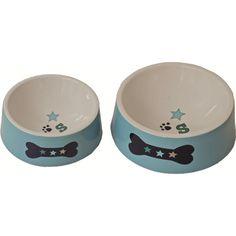 Lief! Boys blauer Keramik Hundenapf Dog Dishes, Dog Bowls, Pets, Blue Pottery, Dog Food, Gifts