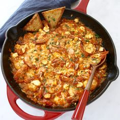 Easy Greek Shrimp Sa