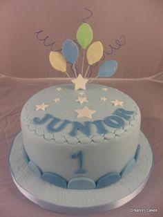 Baby Boy's 1st Birthday Cake!  http://www.facebook.com/tanyamjudd