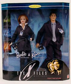The X Files Barbie. I actually have one of these and it's sitting on my computer desk right now.