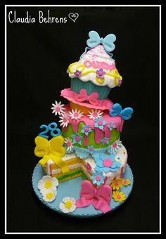 topsy turvey cake carina - claudia behrens by Claudia Behrens ~ Cakes, via Flickr