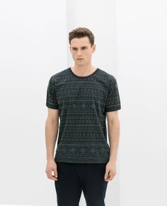 0c38886be7c Image 3 of JACQUARD PRINT T-SHIRT from Zara I think every boy in 2nd grade  had this shirt!