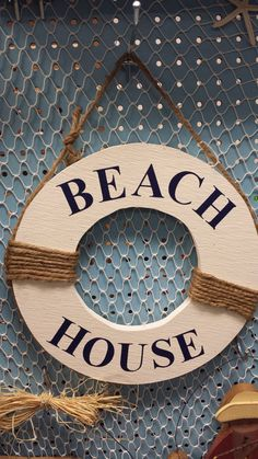 Hey, I found this really awesome Etsy listing at https://www.etsy.com/listing/177671458/beach-house-beach-sign-wood-sign-signs
