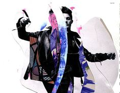ORPHEO, paper collage by Moni Wilk 2015