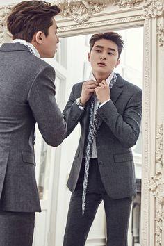 Park Seo Joon #streetstyle