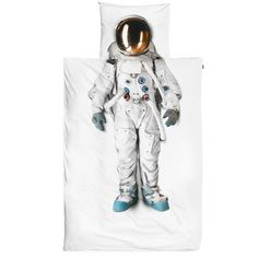 Snurk Dekbed Astronaut   Klevering