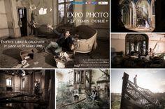 Photographie d'exposition Paris – Série de photos abandonnées « Le temps oublié »  http://www.zilikoo.com/blog/photographie-dexposition-paris-serie-de-photos-le-temps-oublie/