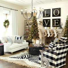 These Living Rooms Are Total Decor Goals. Most Breathtaking Christmas Living Room Decorating Ideas and Inspirations All About Christmas. living room decor apartment Read more info by clicking the link on the image. Mercury Glass Chandelier, Glass Chandelier Shades, Christmas Living Rooms, Home Living Room, Christmas Home, White Christmas, Christmas Colors, Artwork For Living Room, Xmas